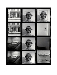 untitled (self-portrait/contact sheet) by chuck close