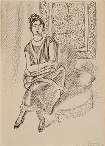 the modern muse paintings, drawings and sculpture by twentieth-century masters by henri matisse