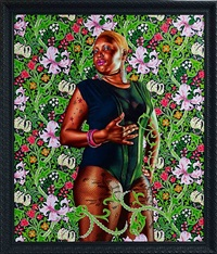 portrait of mary hill, lady killigrew by kehinde wiley