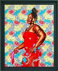 kehinde wiley - the world stage jamaica by kehinde wiley