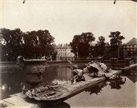 versailles, bassin neptune, 6103 by eugène atget
