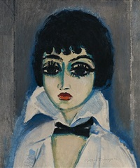 marcelle leoni ponchettes by kees van dongen