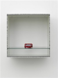 untitled (double decker bus) by haim steinbach