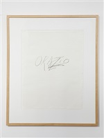 orazio by cy twombly