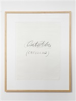 catullus by cy twombly