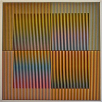 ceramique n°14 by carlos cruz-diez