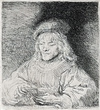 the card player by rembrandt van rijn