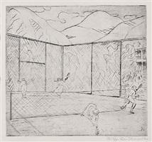tennisspiel by philipp bauknecht