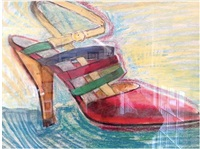 the shoe by larry rivers