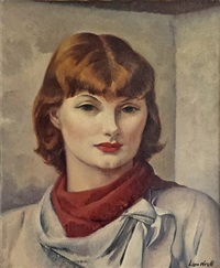 miss carolyn edmunson by leon kroll