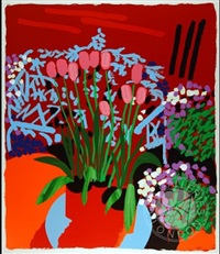 tall dutch tulips by bruce mclean