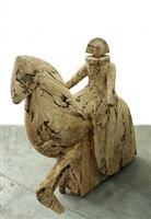dama a caballo ix by manolo valdés