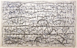 white fugue by richard pousette-dart