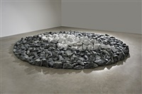 winter solstice circle by richard long