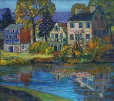 canal reflections by fern isabel coppedge