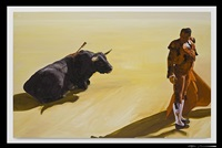 corrida in ronda by eric fischl