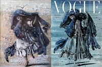 vogue cover variation by eugene berman