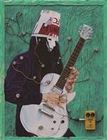 guitarist -1 by zheng wei