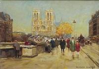notre dame by edouard léon cortès