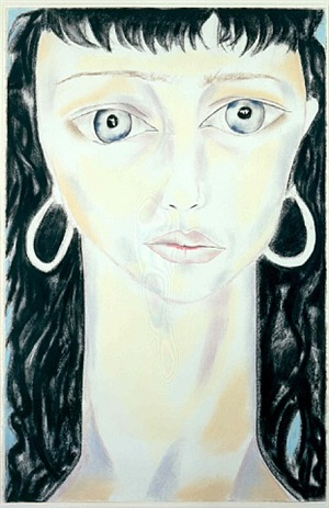 new york muses v by francesco clemente