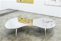 paved with good intentions (miami table no. 25) by ron arad