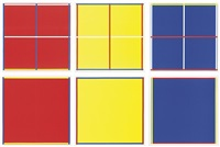 rot, gelb, weiß, blau by imi knoebel