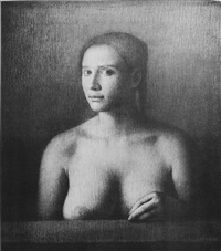portrait of a girl by odd nerdrum