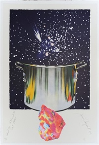 "star catcher from the portfolio, ""welcome to the water planet"" by james rosenquist"