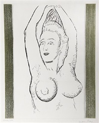sonia from la ballade des dames hors du temps by man ray