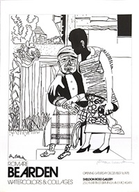 watercolors and collages by romare bearden