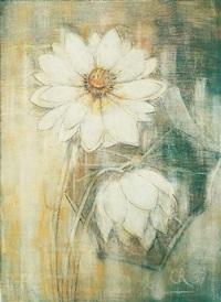 zwei lotosblüten by christian rohlfs