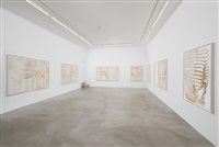 matthew brandt: stars. dust, bubble wrap- installation view by matthew brandt