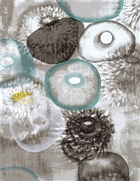 happiness for instance ii by ross bleckner