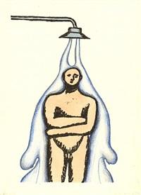 o.t. (unter der dusche) by ilya kabakov