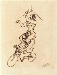 akrobaten by george grosz