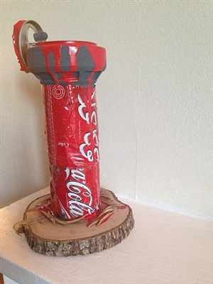 coca cola watch tower by banksy