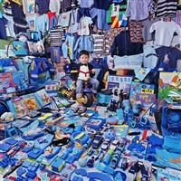 taehyung-luke and his blue things by yoon jeongmee