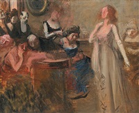 the recital by jean louis forain