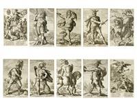 roman heroes by hendrik goltzius