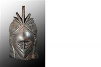 mende bundu mask, african art by unknown