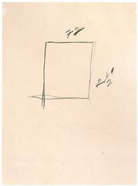 sans titre / untitled by cy twombly