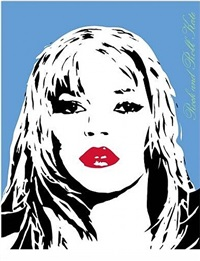 kate moss blue by bambi