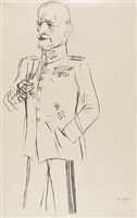 officer by george grosz