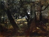 la faisanderie en forêt de compiègne by théodore rousseau