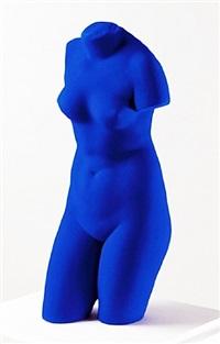 la venus d'alexandrie (venus bleue) by yves klein