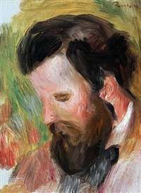 portrait of the composer claude terrasse by pierre-auguste renoir