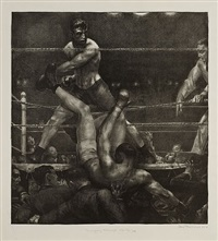 dempsey through the ropes by george wesley bellows