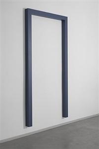 intense blue-gray portal iii, 1 by gianni piacentino