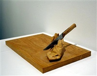 chopping block by juan muñoz