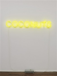 work no. 1524: coconuts by martin creed